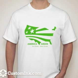 Make America Green Again T-shirt by Solareum