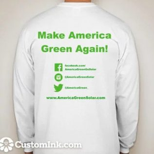 Make America Green Again Long Sleeves by Solareum
